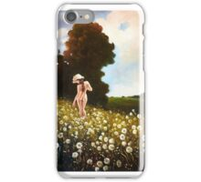 It's time dandelions iPhone Case/Skin