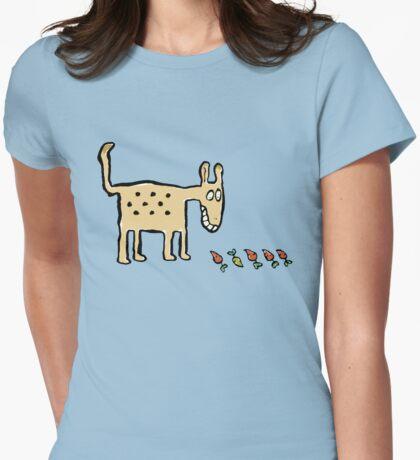 orderly animal (neatibeastus aspergiensis) Womens Fitted T-Shirt