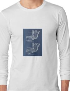 Historical surgical chart Long Sleeve T-Shirt