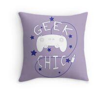 Geek Chic Simplistic Throw Pillow