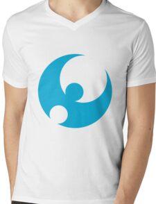Pokemon Moon Mens V-Neck T-Shirt