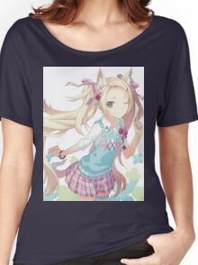 Anime Cat Girl Women's Relaxed Fit T-Shirt