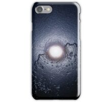 Blue Moon Over Trees iPhone Case/Skin