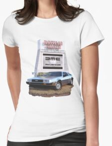 1982 DeLorean DMC-12 Day Womens Fitted T-Shirt