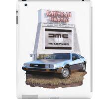 1982 DeLorean DMC-12 Day iPad Case/Skin