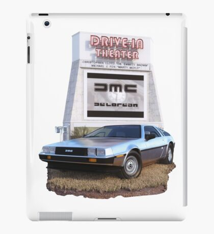 1982 DeLorean DMC-12 Day iPad Case/Skin