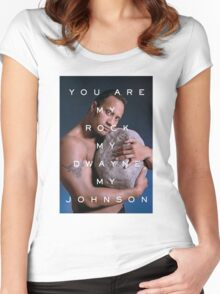 You Are My Rock Women's Fitted Scoop T-Shirt