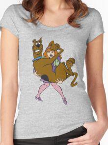 scooby doo Women's Fitted Scoop T-Shirt