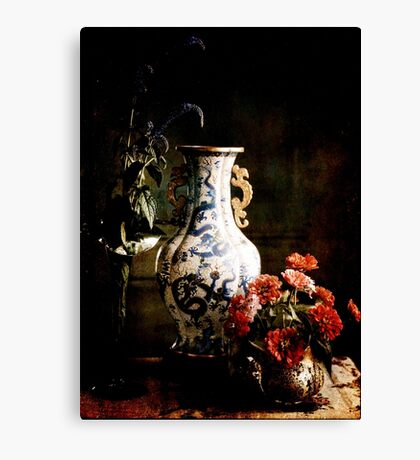 The Chinese Vase Canvas Print