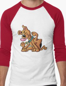 scooby doo Men's Baseball ¾ T-Shirt
