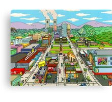 Springfield city Canvas Print