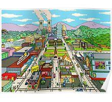 Springfield city Poster