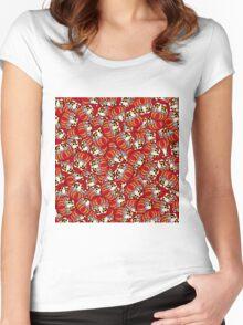 Mini Daruma Women's Fitted Scoop T-Shirt
