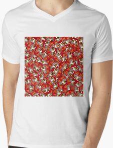 Mini Daruma Mens V-Neck T-Shirt