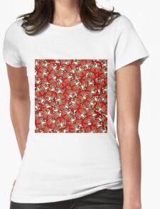 Mini Daruma Womens Fitted T-Shirt
