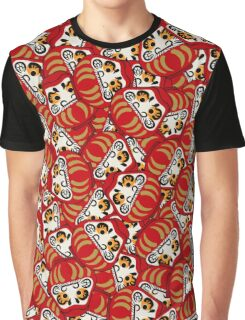 Mini Daruma Graphic T-Shirt