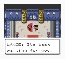 Pokemon Generation II - Champion Lance wants to fight! One Piece - Long Sleeve