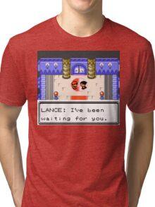 Pokemon Generation II - Champion Lance wants to fight! Tri-blend T-Shirt