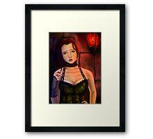 HAIRED Framed Print