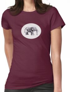 Thumbephant Womens Fitted T-Shirt
