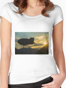 Blimp Women's Fitted Scoop T-Shirt