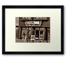 """""""Gatlinburg, Tennessee Series, #5... 'The Old Timey Photo Shop, 3rd Picture'""""... prints and products   Framed Print"""