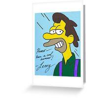 Lenny Greeting Card