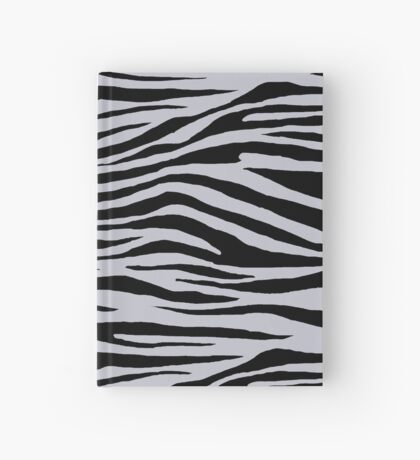 0347 Lavender Gray Tiger Hardcover Journal