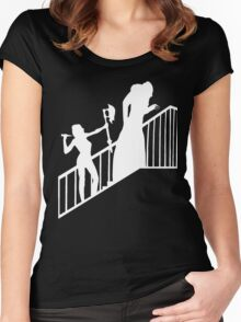 Buffy VS Orlok II! Women's Fitted Scoop T-Shirt