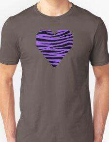 0348 Lavender Indigo or Navy Purple Tiger T-Shirt