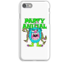 Party Animal Monster Cartoon iPhone Case/Skin