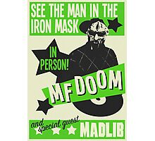 Retro MF Doom Photographic Print