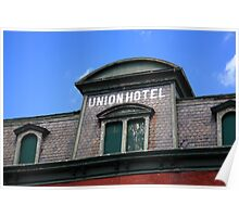 Flemington, NJ - Union Hotel Poster