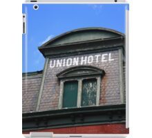 Flemington, NJ - Union Hotel iPad Case/Skin
