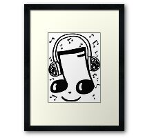 museic Framed Print