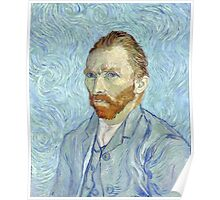 Vincent van Gogh - Self Portrait Poster