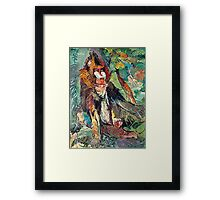 The Mandrill Framed Print