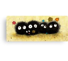 Sweet Little Soot Sprites Canvas Print