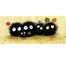 Sweet Little Soot Sprites Photographic Print