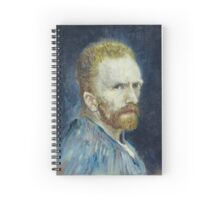 Vincent van Gogh - Self Portrait Spiral Notebook
