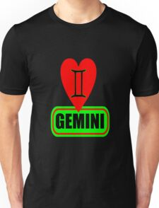♊★Love Gemini Fabulous Clothes & Phone/iPad/Laptop/MackBook Cases/Skins & Bags & Home Decor & Stationary & Mugs★♊ Unisex T-Shirt