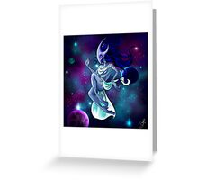 Within Time and Space Greeting Card
