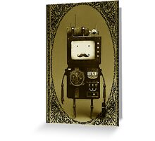 Steampunk B-MO Adventure time.  Greeting Card