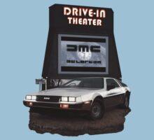 1982 DeLorean DMC-12 Night One Piece - Short Sleeve