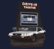 1982 DeLorean DMC-12 Night One Piece - Long Sleeve