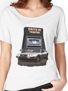 1982 DeLorean DMC-12 Night Women's Relaxed Fit T-Shirt