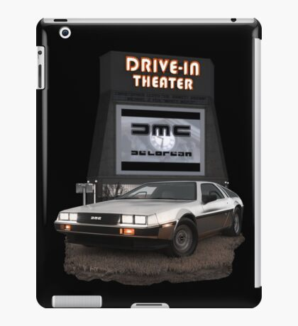 1982 DeLorean DMC-12 Night iPad Case/Skin
