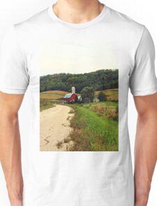 A Farm in Rural Wisconsin Unisex T-Shirt