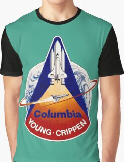 Space Shuttle Columbia (STS-1) Graphic T-Shirt