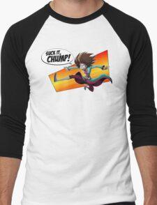 Mystery Babylon - Suck it, Chump! Men's Baseball ¾ T-Shirt